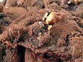 DELICIOUS: Double Choc Fudge Cookies.