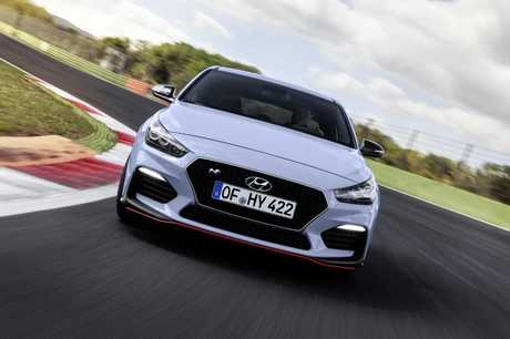 The Hyundai i30N will be a rampaging hot hatch.