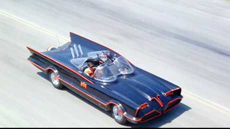 DREAM CAR: The Batmobile.