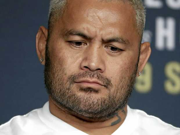Australian UFC fighter Mark Hunt