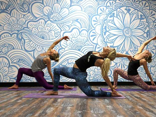 Heatwave Hot Yoga owner Amy Arnell, and Gopali Dasi Doyle and Zuzana Meskova will be sharing an alternative Tweed artform on the TODAY Show.