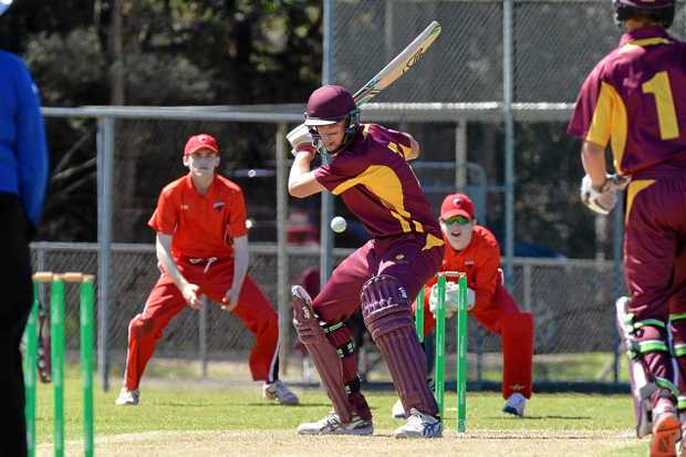 STAR: Queensland under 17's cricket player and Sunshine Coast Scorcher Angus Lovell.