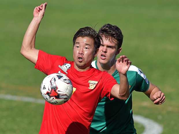 KEY MAN: Fire's Shoichi Koshimizu will be an important player for the Fire this season.