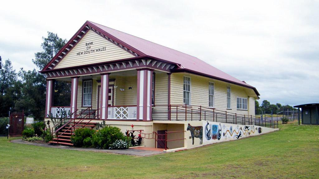 RICH IN HISTORY: The main Bank of New South Wales was donated and moved to the museum.