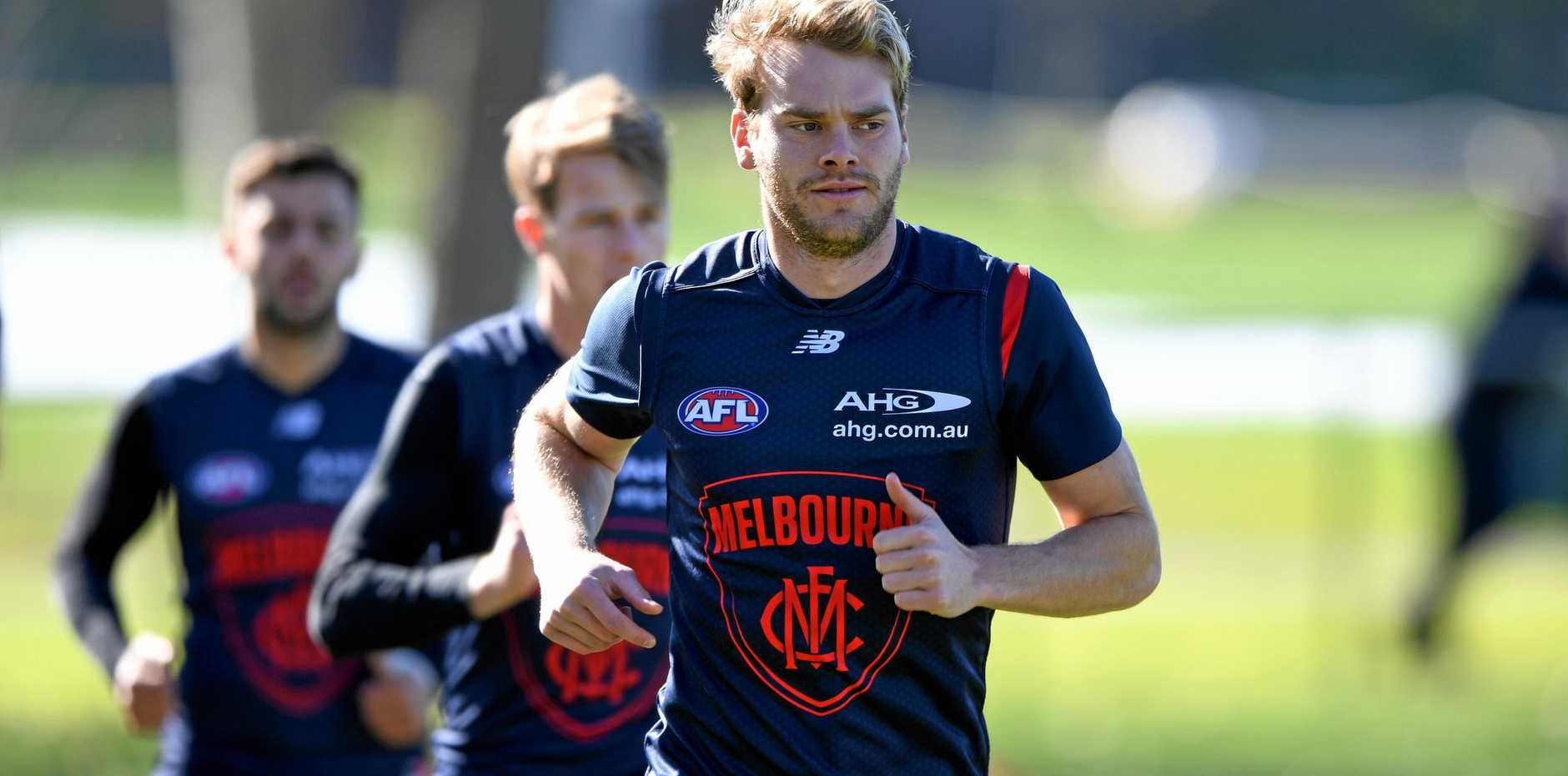 Jack Watts was shown round Geelong on Tuesday.