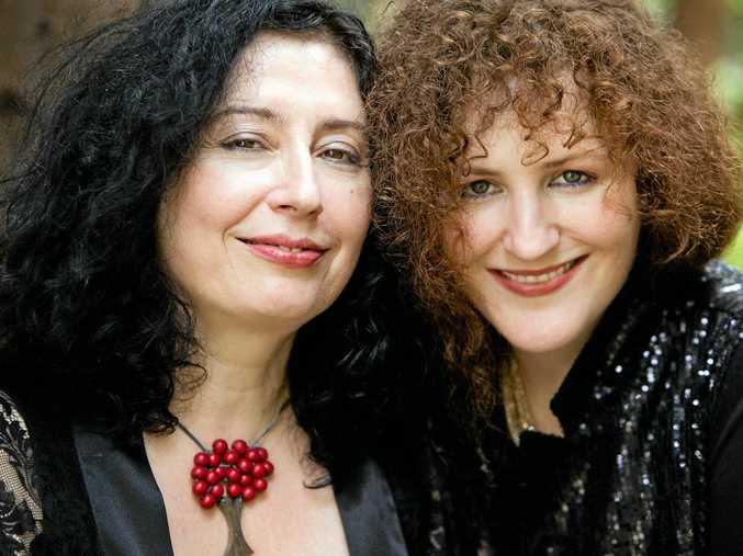 WORLD PREMIERE: Composer Elena Kats-Chernin and pianist Tamara-Anna Cislowska will play in Grafton later this month.