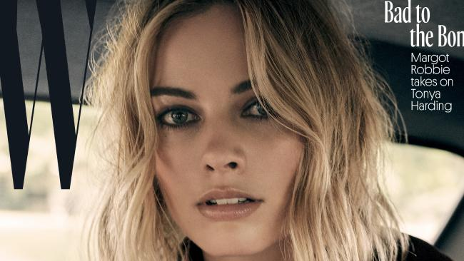 Margot Robbie covers W Magazine.