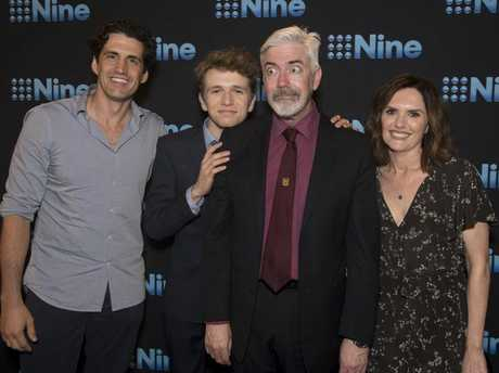 Channel 9 is reviving the TV series Talkin' 'Bout Your Generation. Shaun Micallef, second from right, returns as host with new team captains Andy Lee, Laurence Boxhall and Robyn Butler