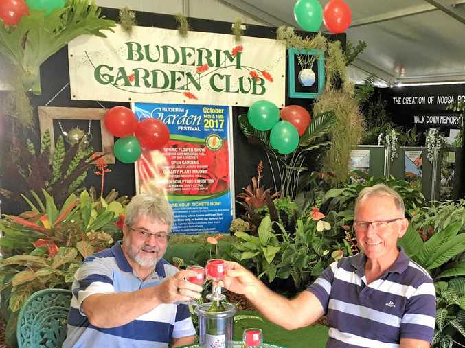 TIME TO CELEBRATE: The Buderim Garden Club will be hosting a Garden Festival this weekend.
