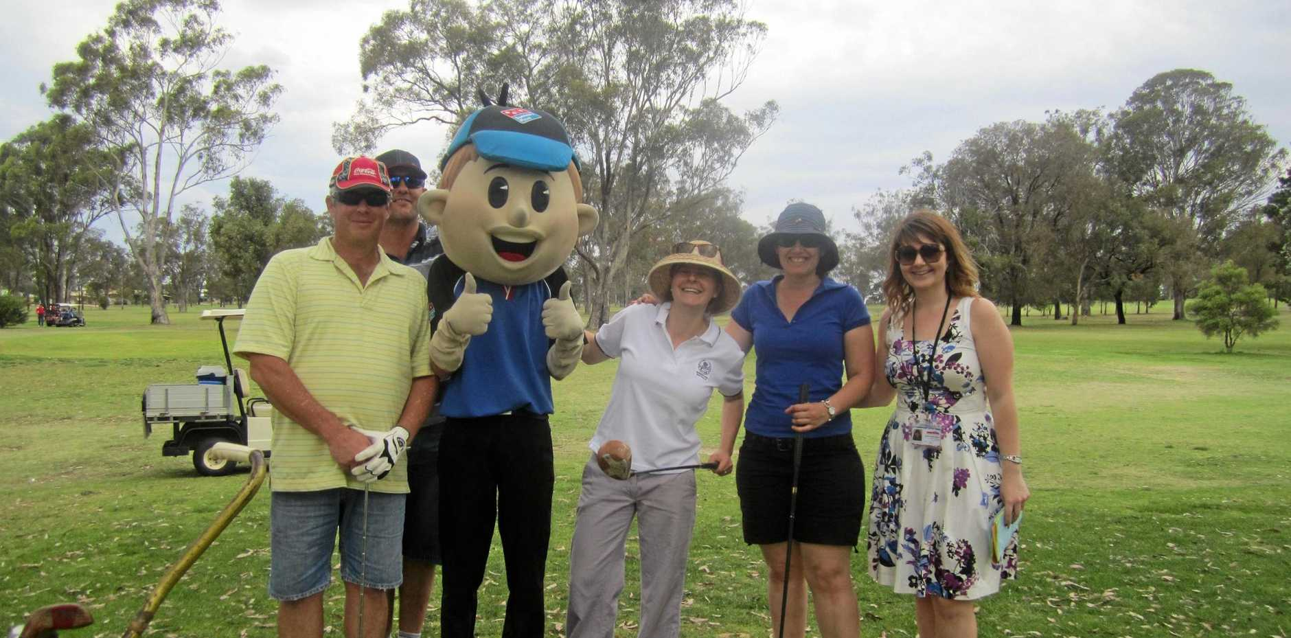FUN DAY: The BUSHkids charity golf day is on today at the Emerald Golf Club.