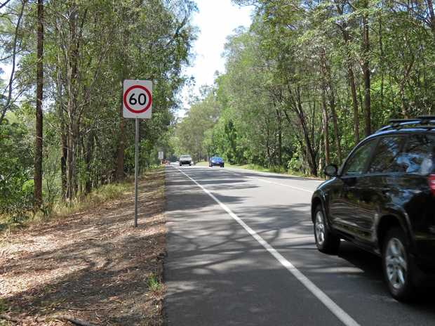 60 IS THE NEW 80: Permanent sign erected  changing 600m of 80km/h road to 60km/h.