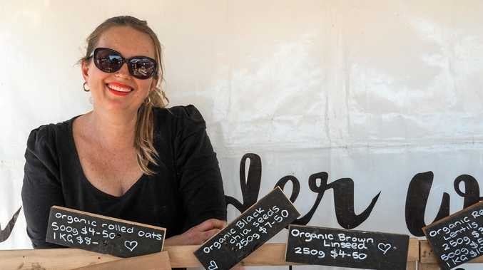 ORGANIC BUSINESS GROWING: A Kinder Way's Katrina Koutsellis.