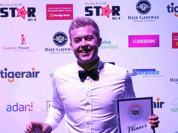 YOUNG ACHIEVER: Walter's Lounge head chef Rob Mohr has been an asset to tourism in the region.