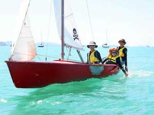 Laser racers battle it out on Pioneer Bay