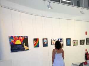 Youth artwork put on display