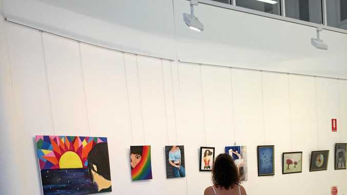 ART SHOW: The Gems of Youth 2017 is on display at the Emerald Art Gallery.