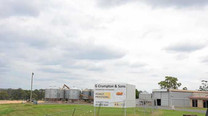 NEW DEVELOPMENT: G Crumpton and Sons received conditional approval to build a new peanut seed processing plant.