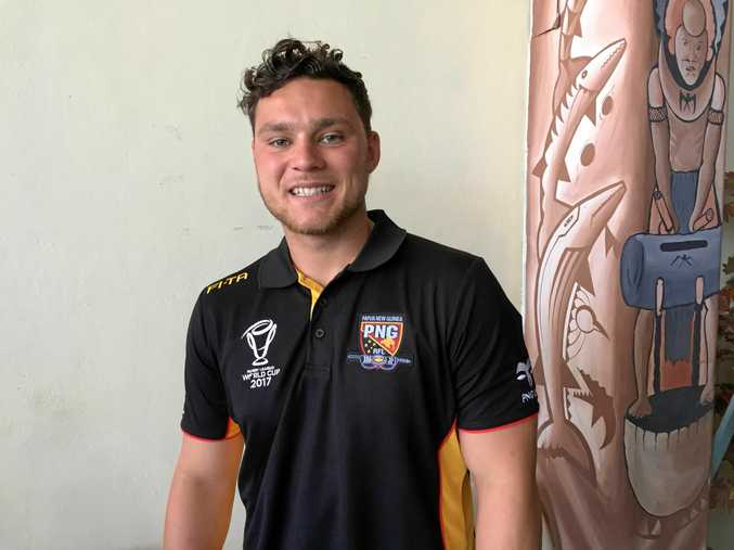 TWO GENERATIONS: Bundaberg's Lachlan Lam will play for Papua New Guinea at this year's World Cup.