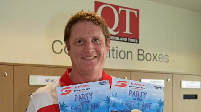 REVVED UP: Trevor Murphy from Flinders View is off to the Gold Coast 600, thanks to the QT.