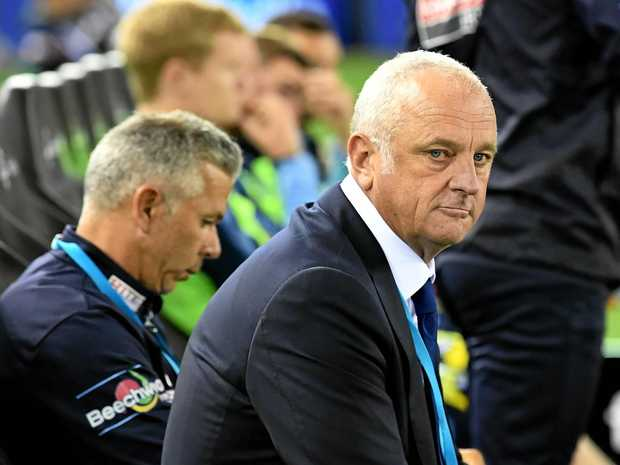 Graham Arnold coaching Sydney FC