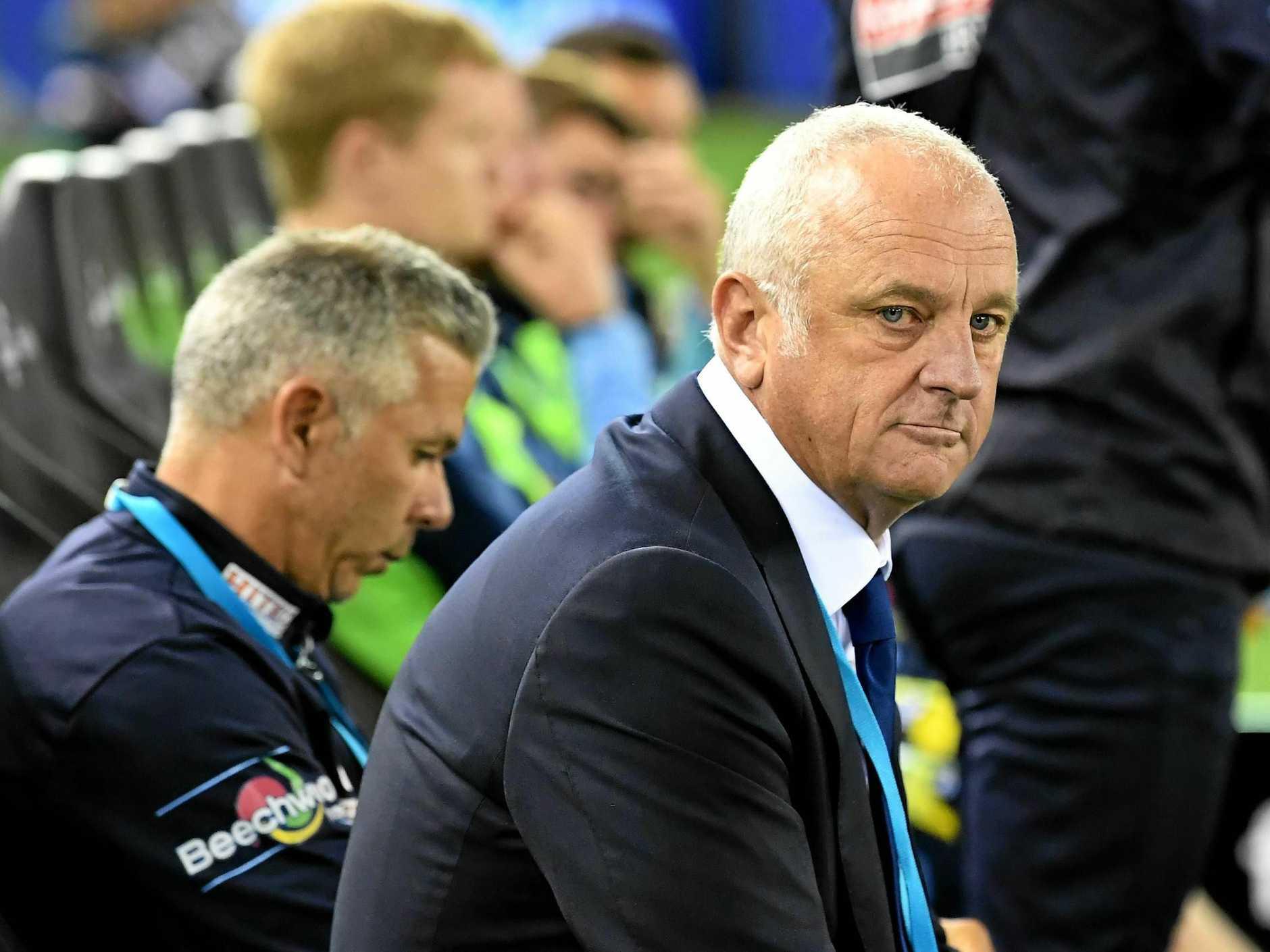 Graham Arnold coaching Sydney FC
