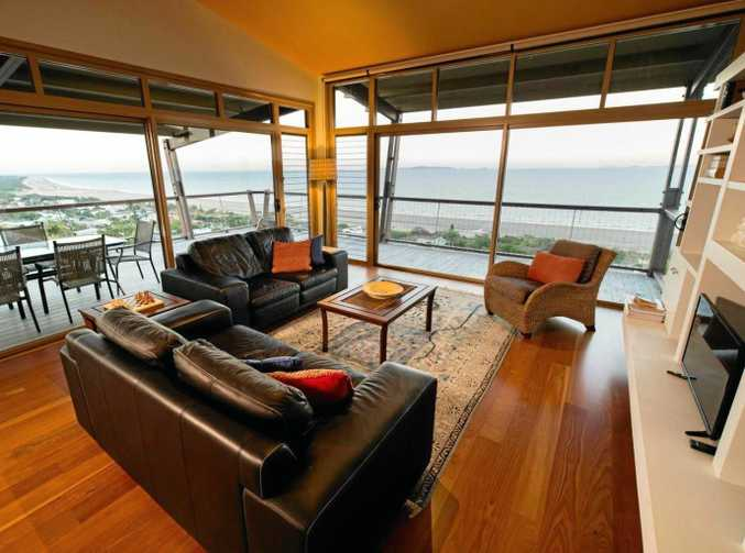This entertainers delight has an expansive deck and spacious living area for the next home owner.