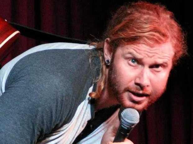 Comedian Ben Knight.
