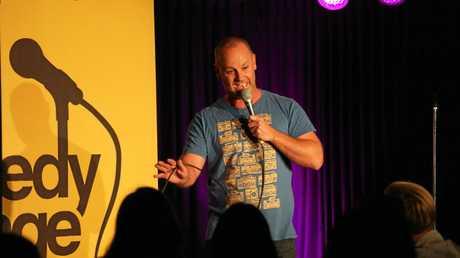 Sunshine Coast comedian Christian Lutz.