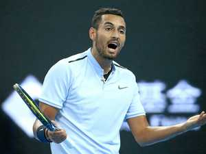 Kyrgios under investigation after latest on-court meltdown