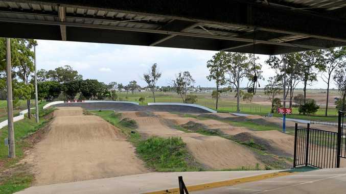 The Bundaberg BMX track.