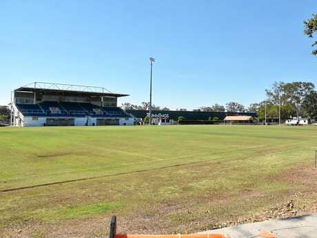 Gladstone NRL match bid - Marley Brown Oval