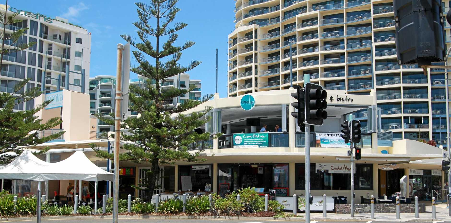 Mantra Mooloolaba is one of seven Sunshine Coast resorts that are about to be absorbed by the giant French AccorHotel group.