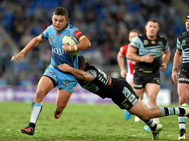 Former Toowoomba Clydesdales player Ash Taylor will return to the region for the Gold Coast Titans NRL game next season.