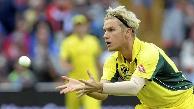 Adam Zampa has had a mixed tour of India.