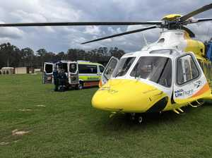 Man airlifted after terrible fall near Gympie