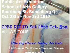 Public Art Exhibition celebrating the Art of Wide Bay Women. Come enjoy the exhibitions and meet the women of WWHAG.
