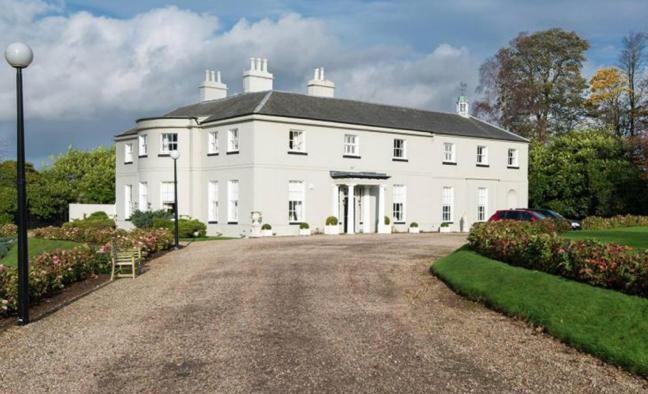 Donna's mansion.