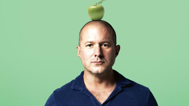 Sir Jonathan Ive could be Apple's most important man.Source:Supplied