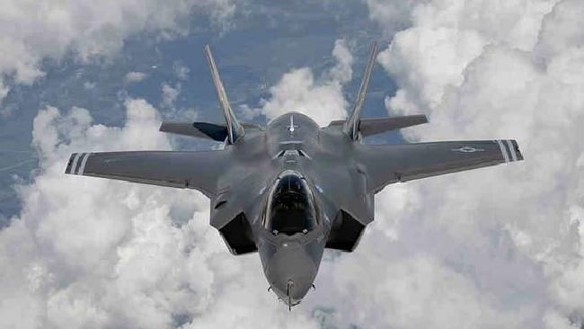 The F-35 Lightning, the Joint Strike Fighter.