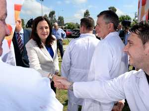 Premier makes jobs announcement in Wacol