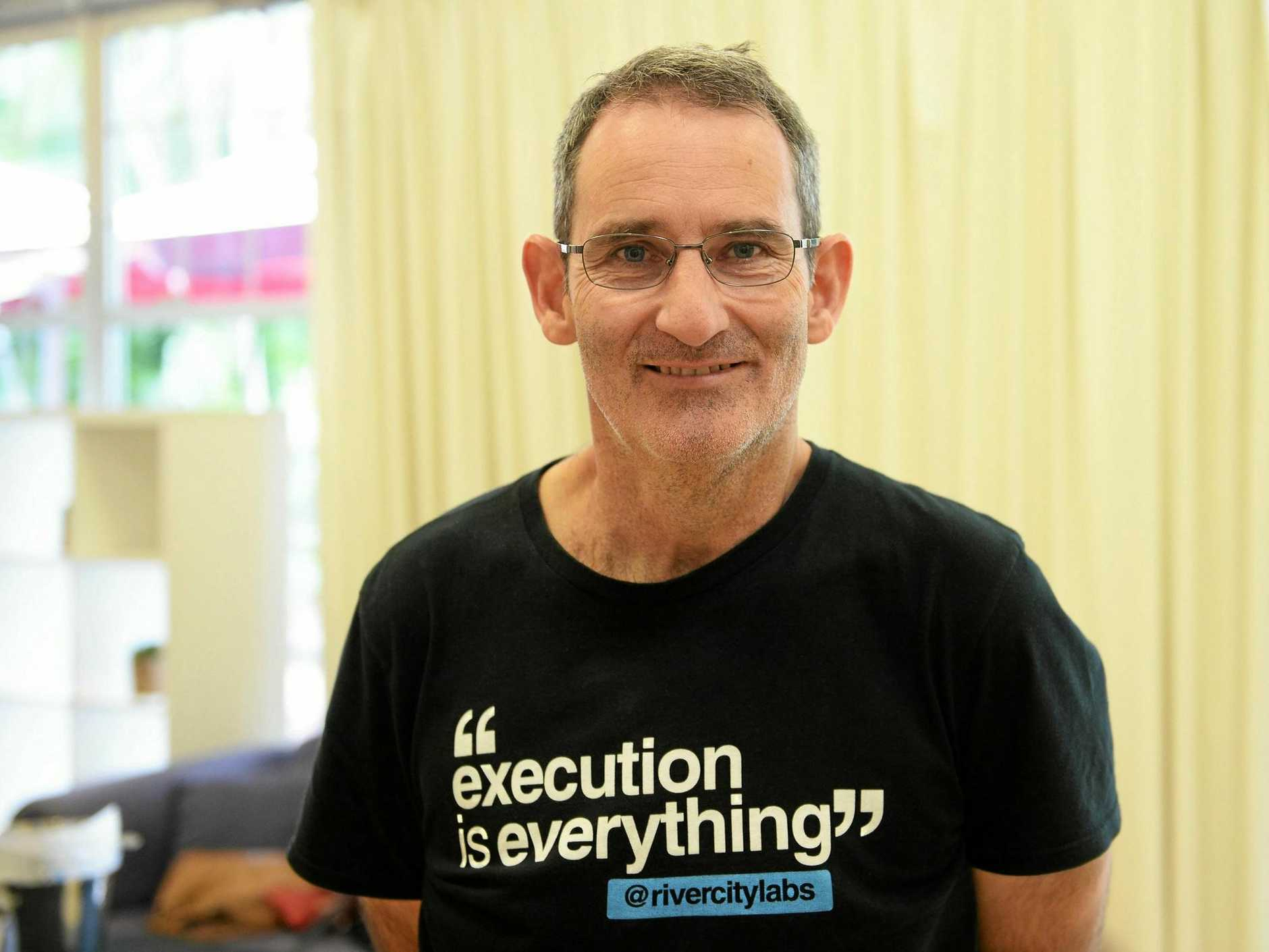 BUSINESS TALK: Steve Baxter will be the guest speaker at the Central Highlands Business Excellence Awards.