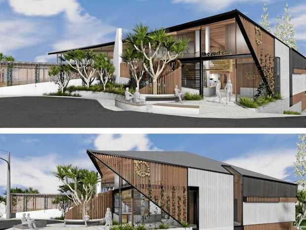 FRESH LOOK: The Sunshine Beach SLSC will look like this if a major upgrade is approved as expected next week in council.