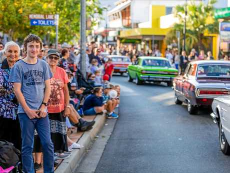 ON PARADE: The Gold Rush Parade through Mary Street starts at 3pm.