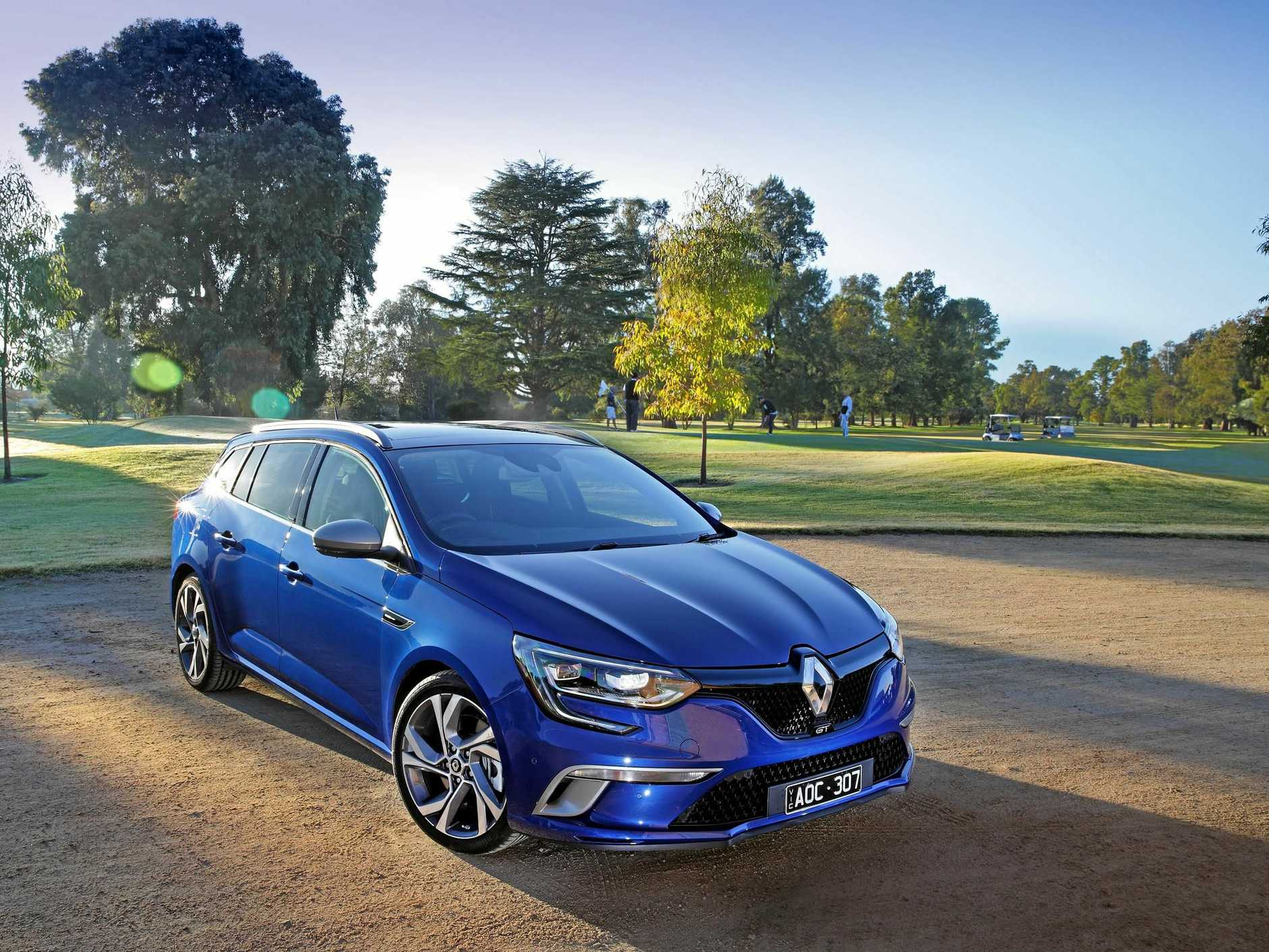 The Renault Megane GT Wagon is available for $42,490 drive-away.