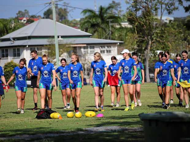 The Cathedral College team is into the grand final of the AFL Queensland Queensland Schools Cup.
