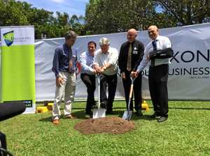 Jobs won't be far away as first sod turned on CQUni project