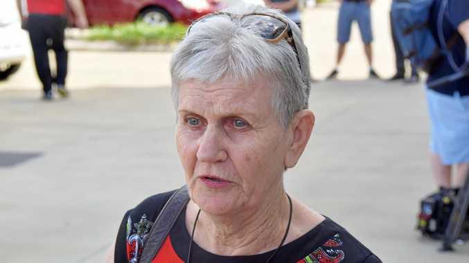 Retiree Lorraine Baker speaks out.