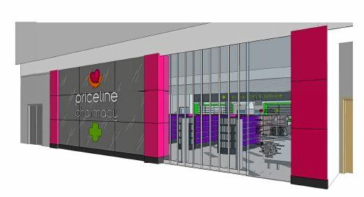 COMING SOON: Priceline Pharmacy is due to open at Rose City Shoppingworld next month and will be connected to a new medical centre.