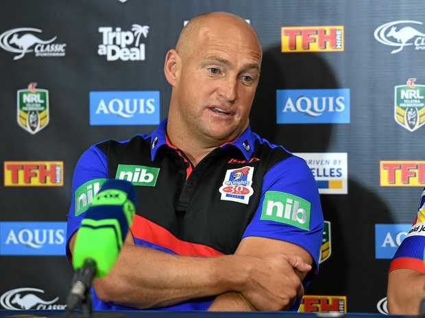 Newcastle Knights coach is on the verge of being offered a contract extension by the club's board and ownership company Wests Group.