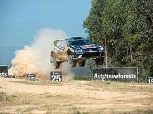 WRC rally Australia Wedding bells stage.